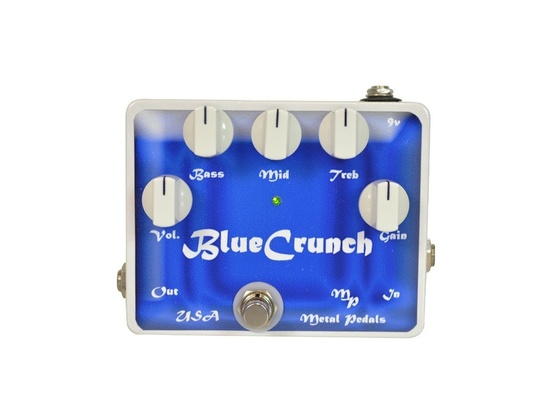Metal Pedals Blue Crunch