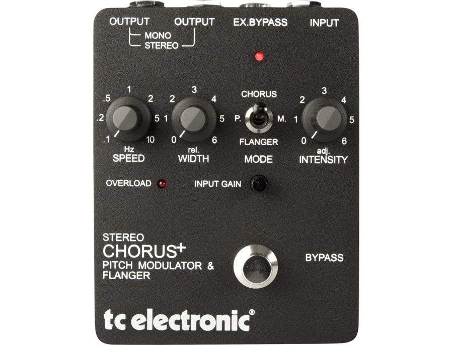 Tc electronic stereo chorus flanger xl