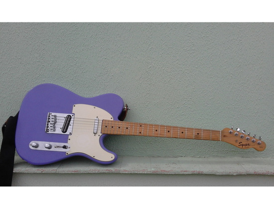 Squier Affinity Tele Violet Custom Color with Dual Blades