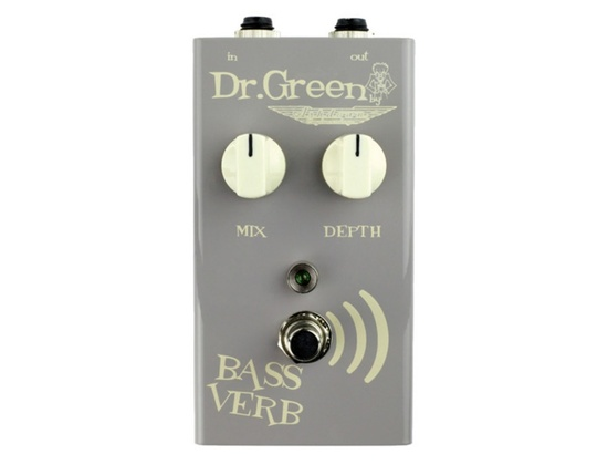 Dr Green Bass Verb Reverb Pedal