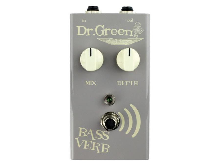 Dr Green Bass Verb Reverb Pedal