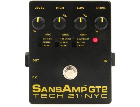 Tech 21 SansAmp GT2 Tube Amp Emulator