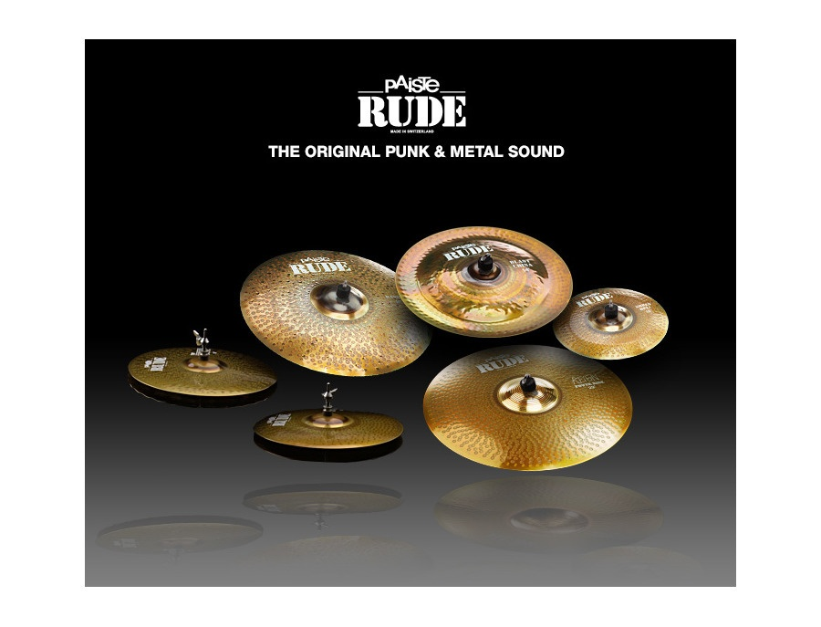 Paiste RUDE cymbal pack