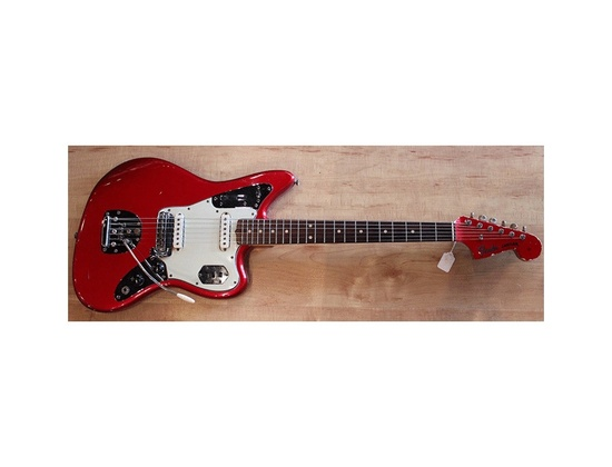 1999 Fender Jaguar MIJ Candy Apple Red