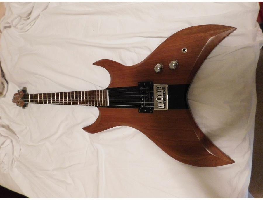 Hand made shred guitar