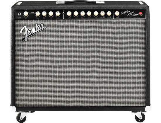 Fender Super Sonic Twin 100W 2X12 Guitar Combo Amp