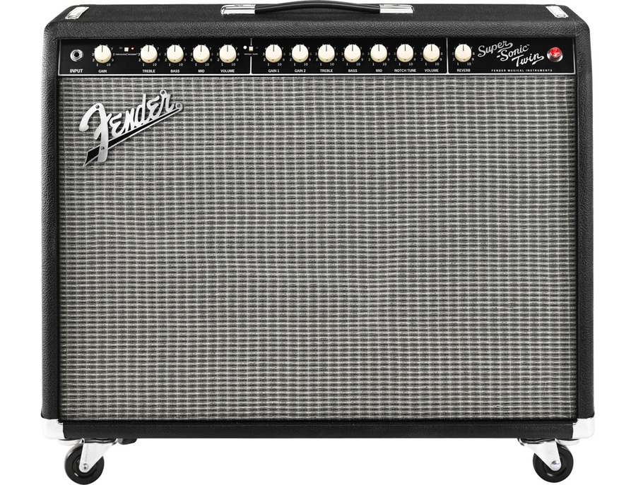 Fender Super Sonic Twin 100W 2X12 Guitar Combo Amp