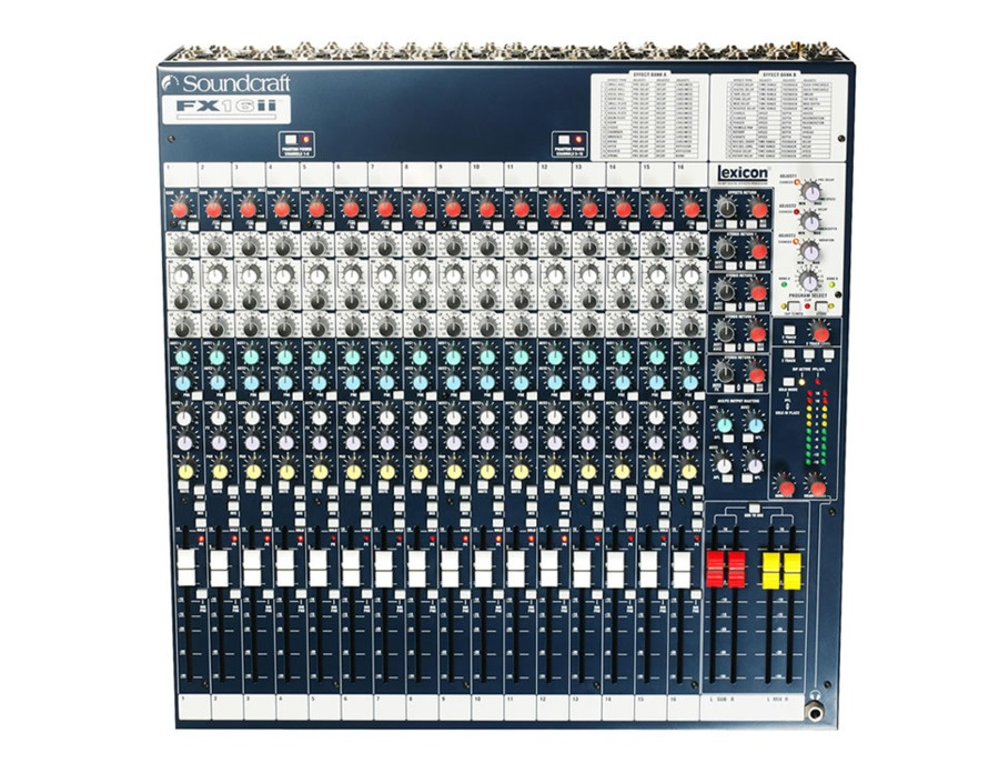 Soundcraft fx16ii xl