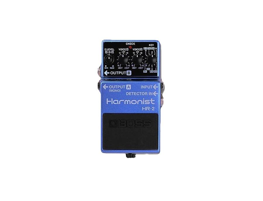 Boss hr 2 harmonist guitar effect pedal xl