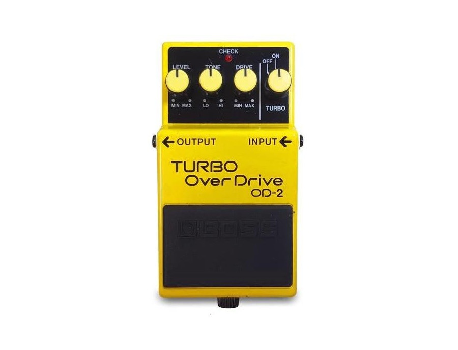 boss od 2 turbo overdrive guitar effects pedal reviews prices equipboard. Black Bedroom Furniture Sets. Home Design Ideas