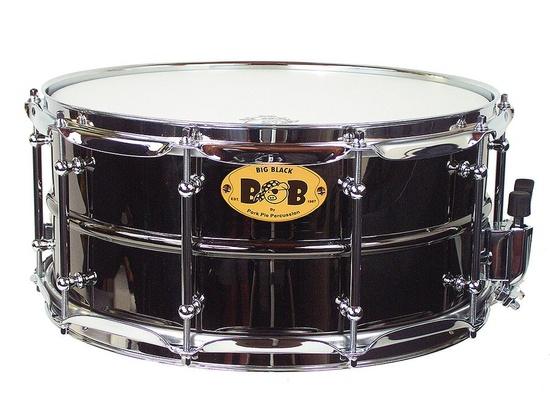 Pork Pie Big Black Snare Drum