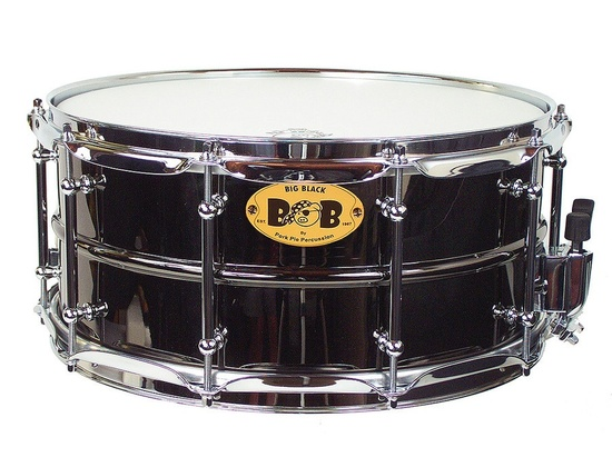 Pork Pie Big Black Snare Drum