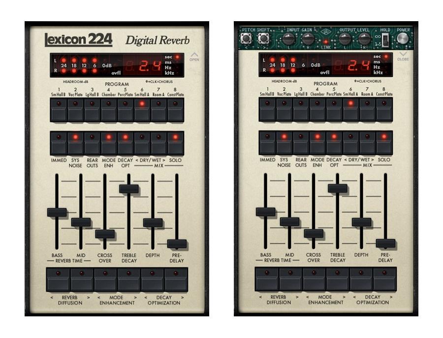 Universal Audio Lexicon 224 Digital Reverb Plug-In