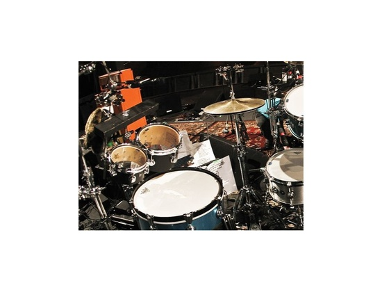 DW Drums Custom Built Concert Toms