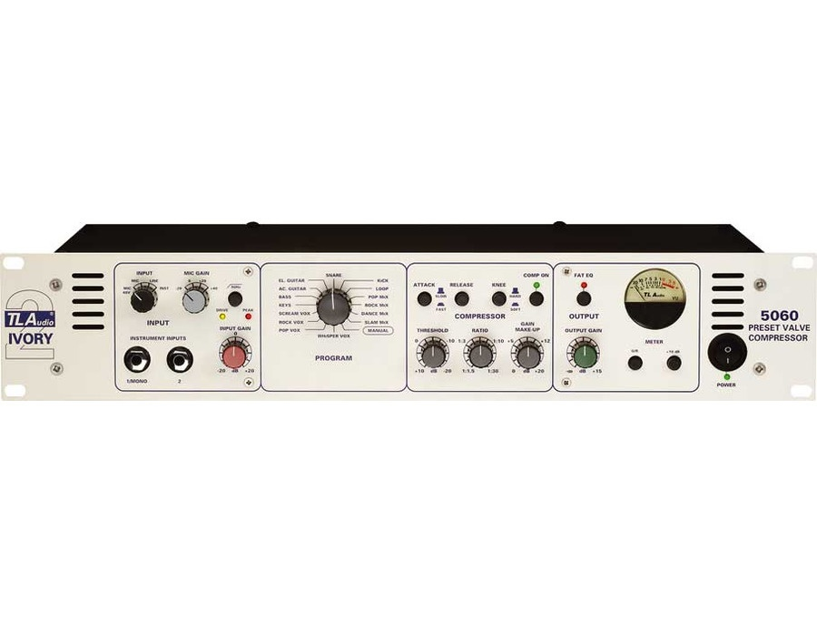 TL Audio 5060 - Preset 2-Channel Tube Compressor