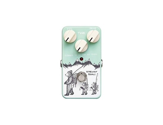 "Ninevolt Pedals ""Fishing is Fun As Fuzz"""