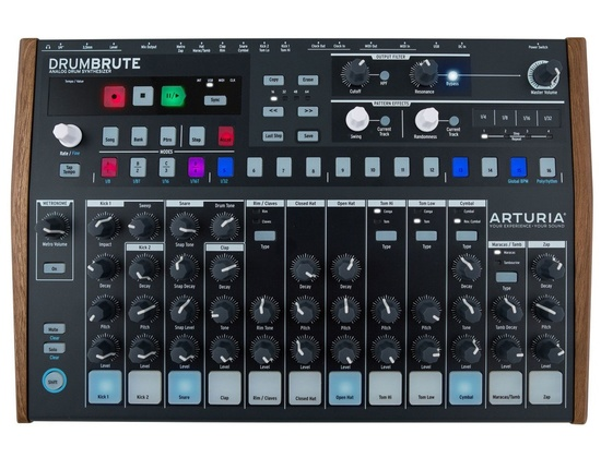 arturia drumbrute analog drum machine reviews prices equipboard. Black Bedroom Furniture Sets. Home Design Ideas