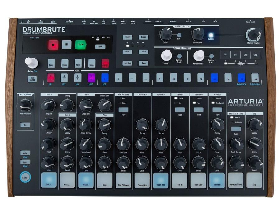 Arturia drumbrute analog drum machine xl