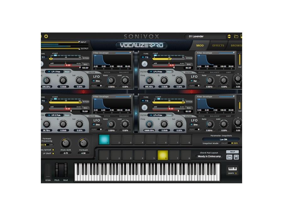 Sonivox vocalizer pro xl