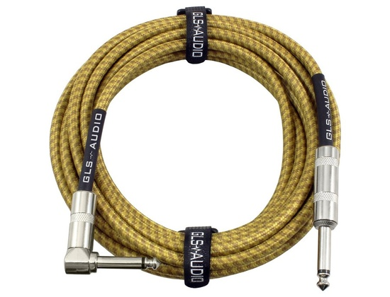 GLS Audio 20 Foot Guitar Cable - Tweed