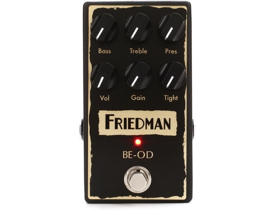 friedman be od overdrive pedal reviews prices equipboard. Black Bedroom Furniture Sets. Home Design Ideas