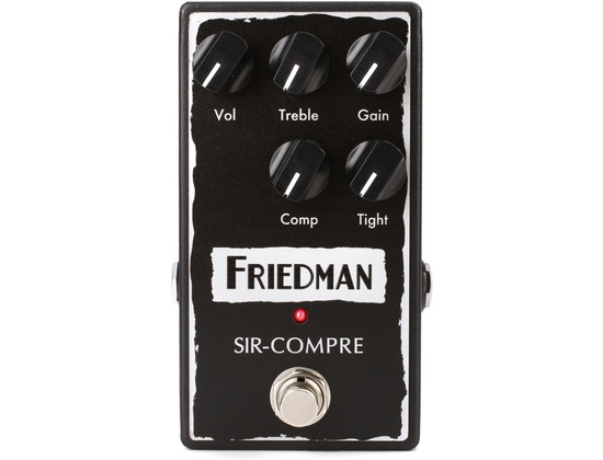Friedman Sir-Compre Compressor Pedal with Built-in Overdrive