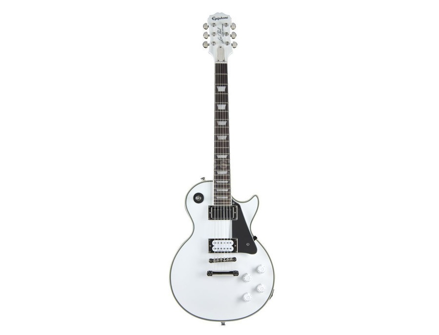 """Epiphone Tommy Thayer Limited Edition """"White Lightning"""" Signature Les Paul Electric Guitar"""