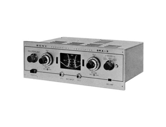 Sony SRA-3 Recording Amp