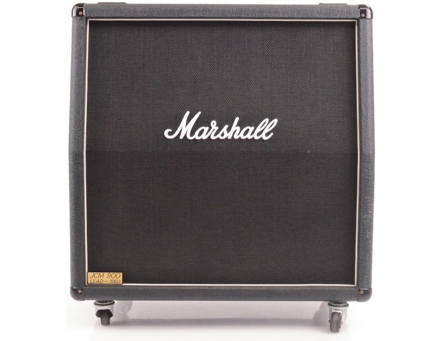Marshall jcm 900a lead 4x12 300 watt angled extension cabinet xl
