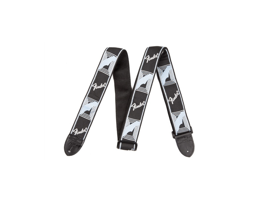 Fender accessories 2 monogrammed guitar strap xl