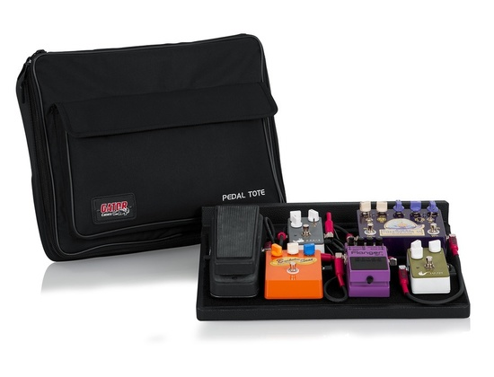 Gator Cases GPT-BL-PWR Pedal Board