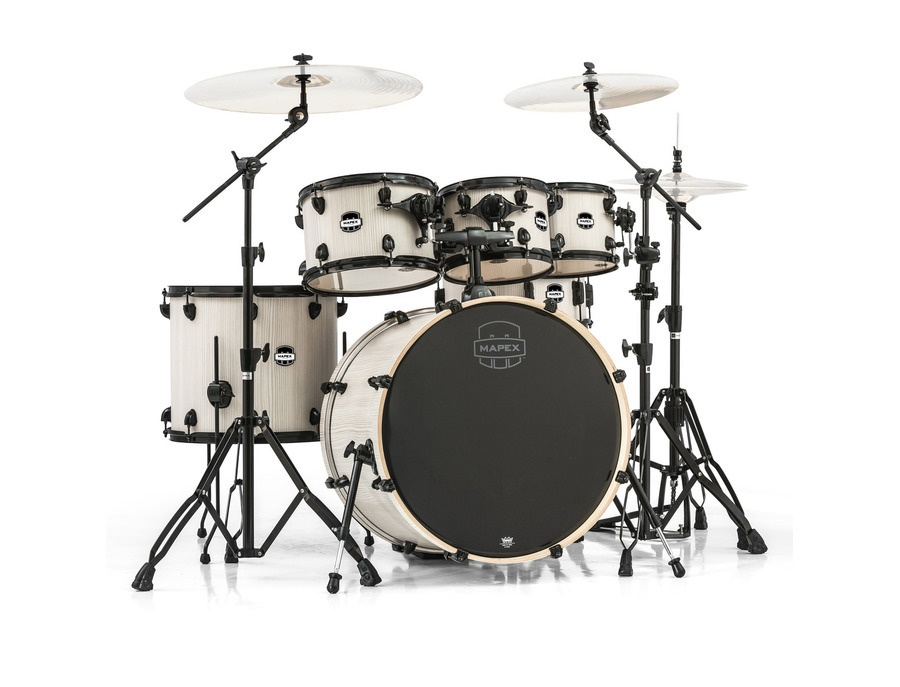 "Mapex Mars 22"" Special Edition Rock 6 Piece Kit, Smokewood"