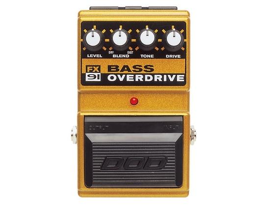 DOD FX91 Bass Overdrive