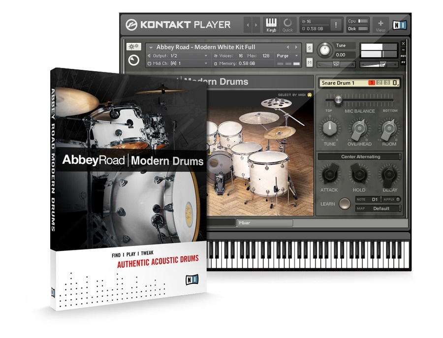 NI Abby Road Modern Drums