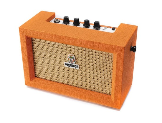 Orange stereo micro crush
