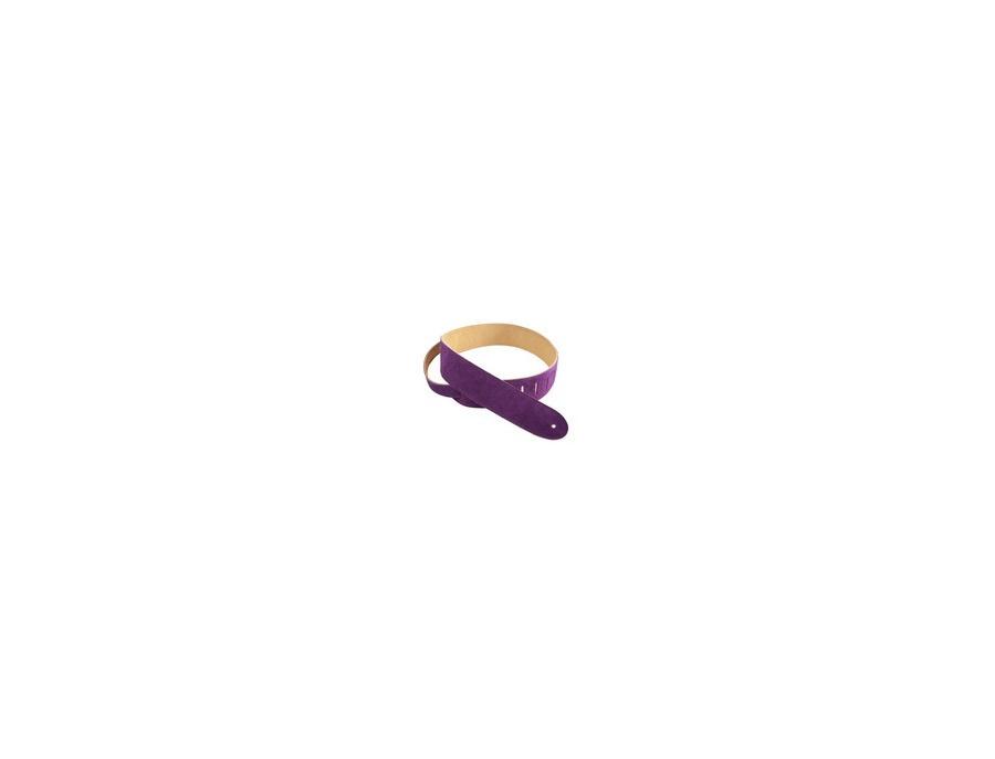 Henry Heller Purple Basic Suede Guitar Strap