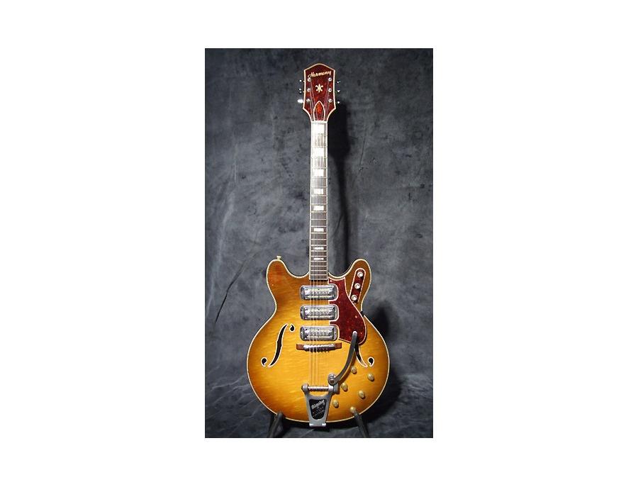 Harmony H76 Eletric Guitar Hollow Body