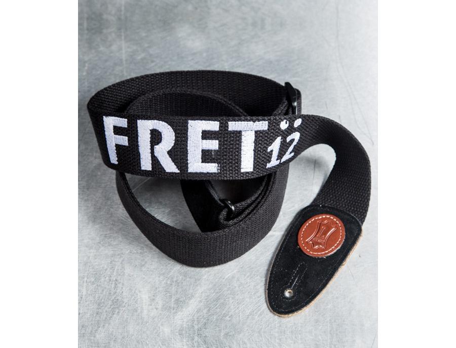 FRET12 Logo Guitar Strap