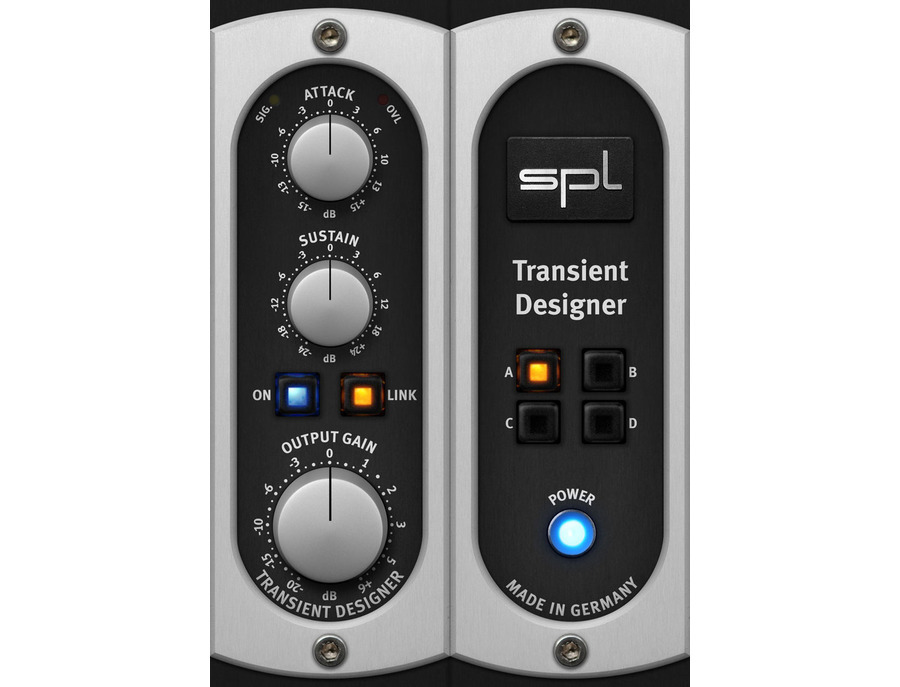 Universal audio spl transient designer plug in xl