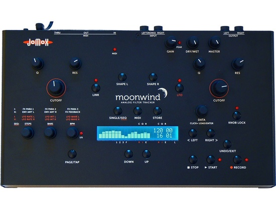 Jomox Moonwind Analog Filter Tracker Sequencer