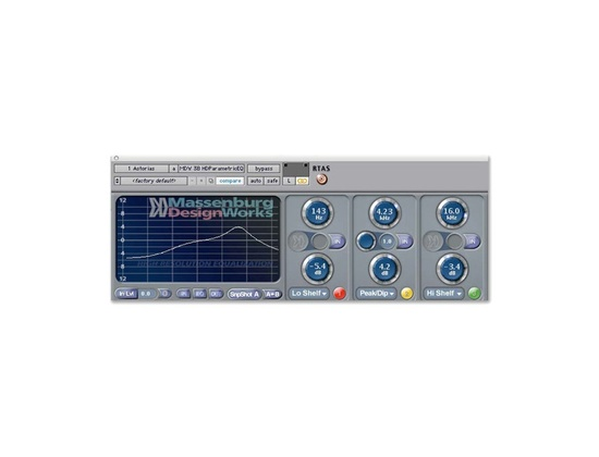 Avid Massenburg DesignWorks MDW Hi-Res Parametric EQ 3.0 Plugin