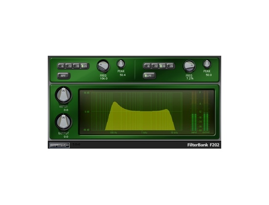 McDSP FilterBank EQ Plugin