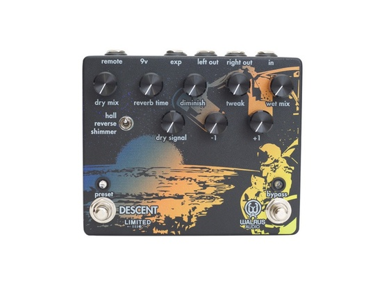Walrus Audio Descent Reverb/Octave Machine - Limited