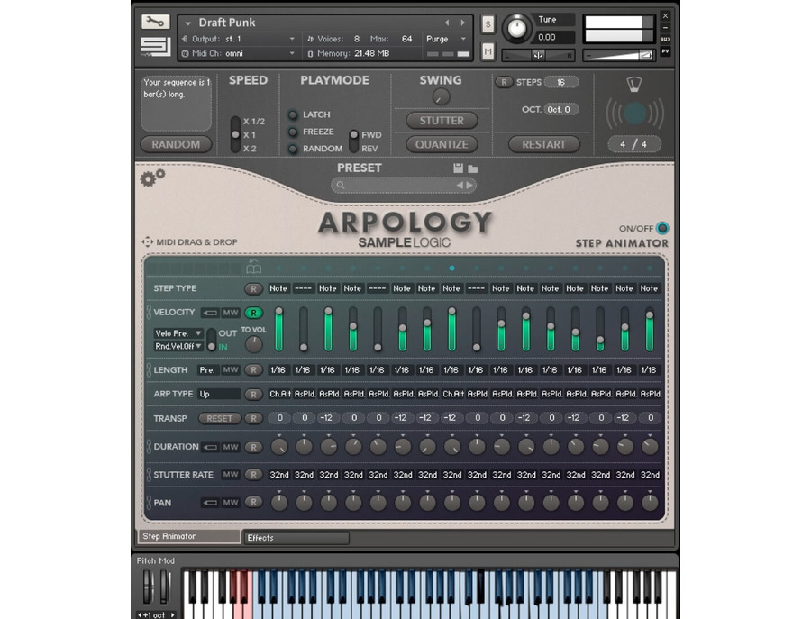 SampleLogic Arpology