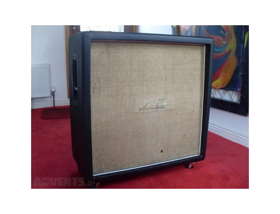 "1969 Marshall ""Basketweave"" 4x12 Cabinet"