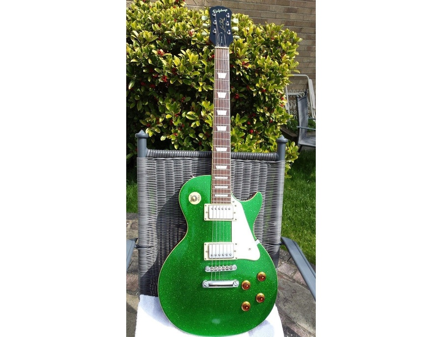 Epiphone Les Paul Green Sparkle
