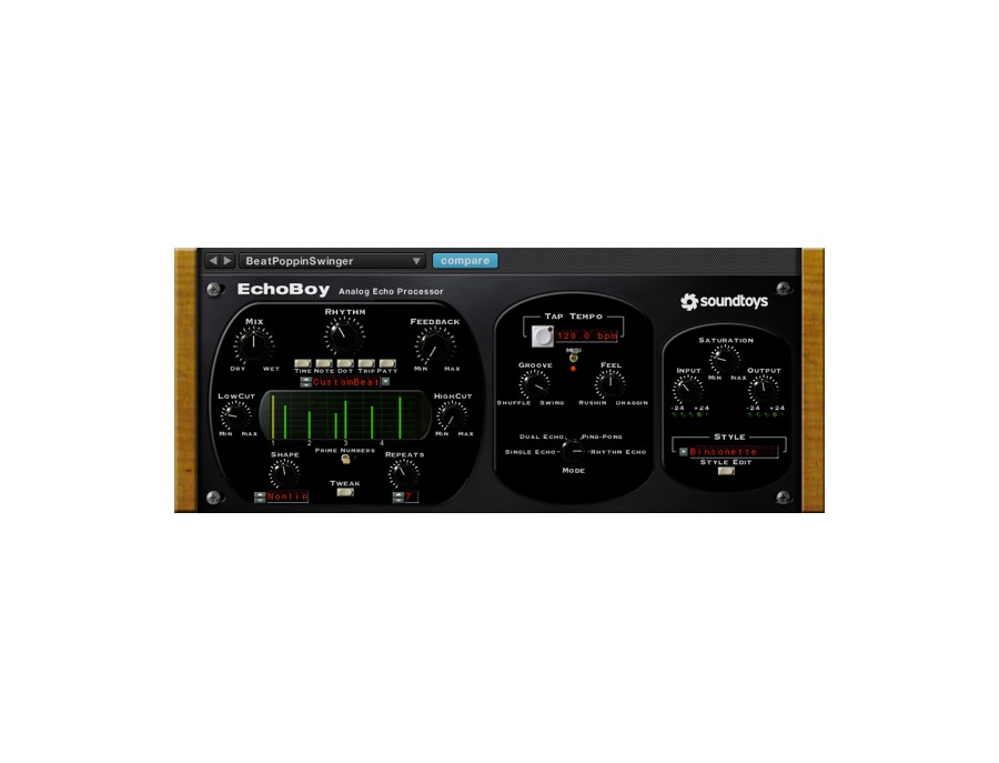 Soundtoys echoboy analog echo processor xl
