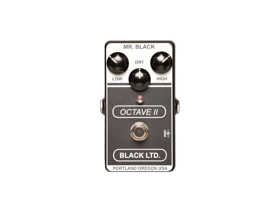 Mr. Black Octave II (Black LTD)