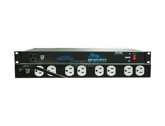 Middle Atlantic Products PD-915R Rackmount Power Supply