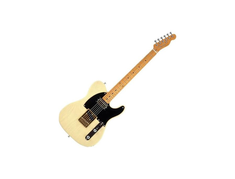 Fender FSR 50s Telecaster Electric Guitar, White Blonde